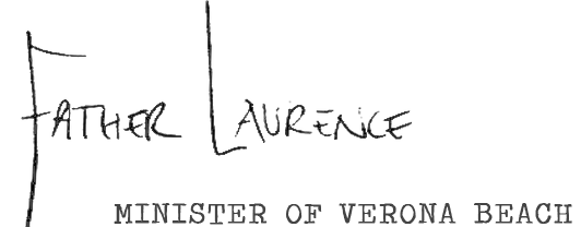 Father Laurence signature
